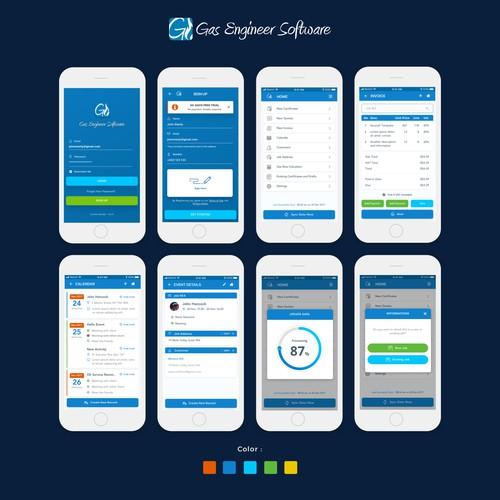 Design App for Management Gas