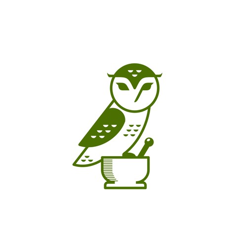Owl Drug logo design