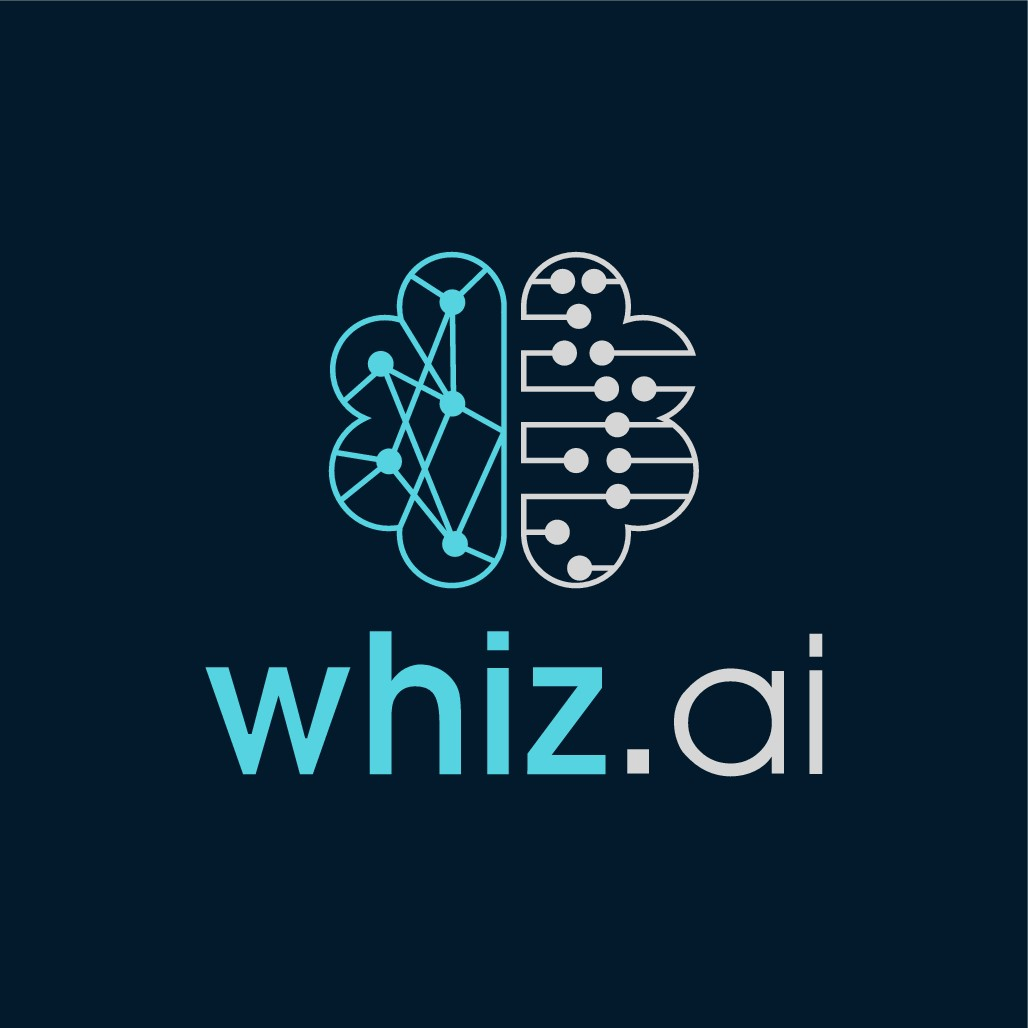 A futuristic logo for Enterprise Artificial Intelligence based assistant for business executives