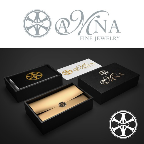 Create an elegant logo for a Jewellery brand