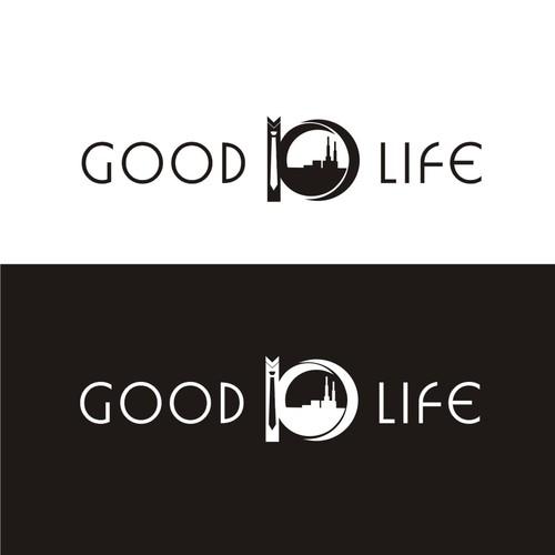 Logo concept for black tie NYC wedding