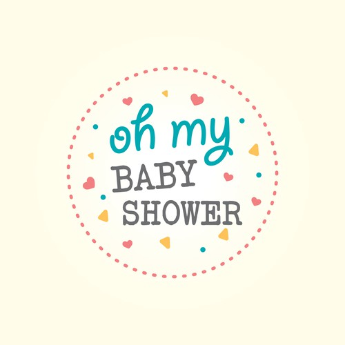 Logo for website selling baby shower supplies