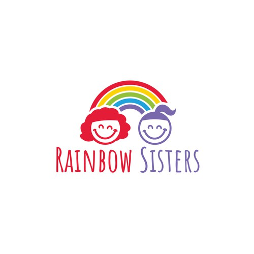 Logo for 2 talented sisters