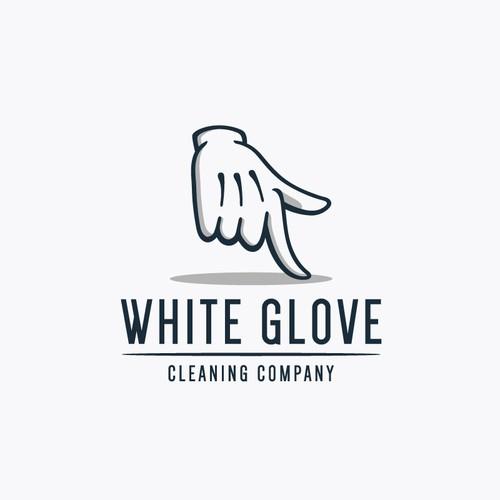 Logo design for White Glove