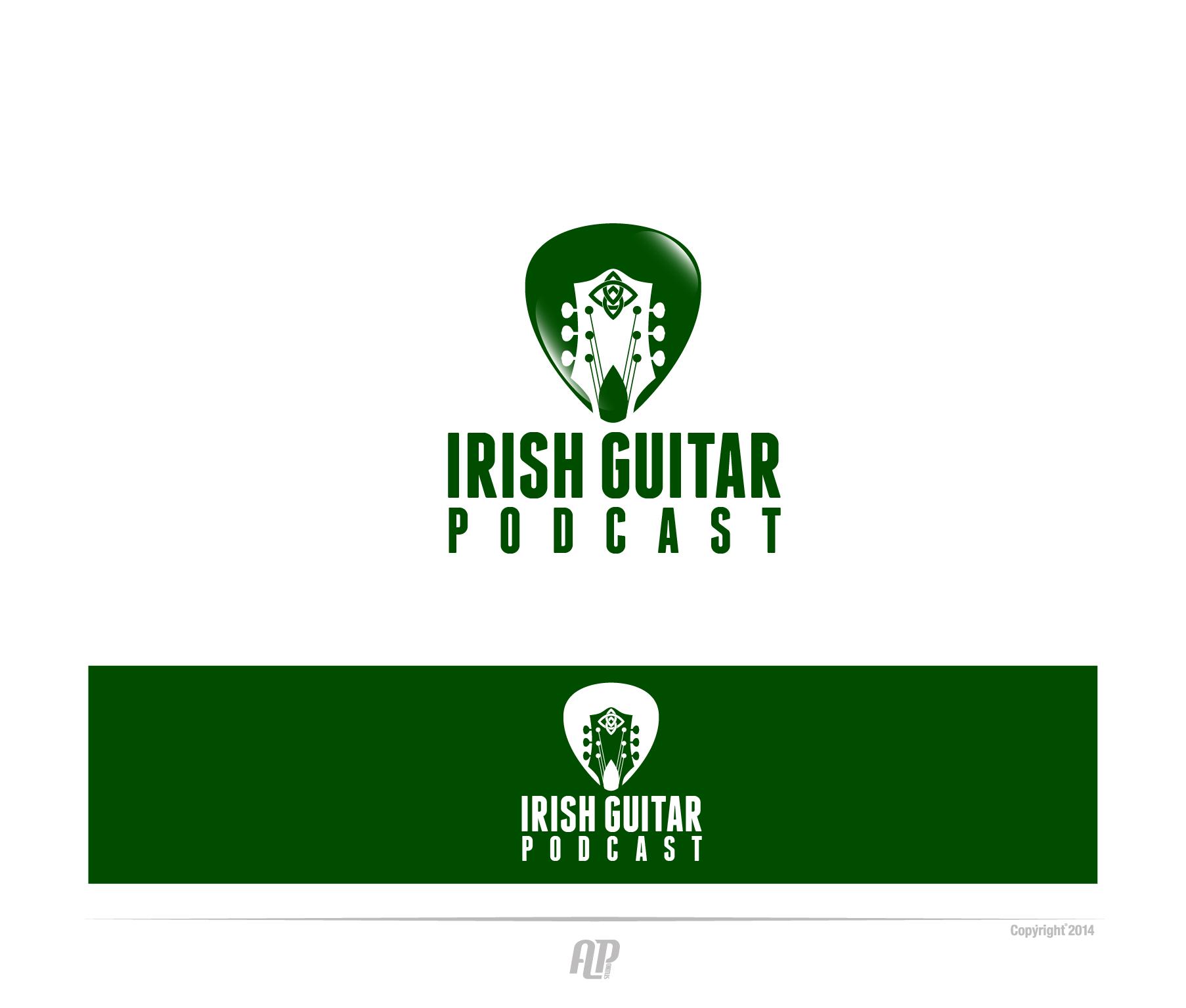 "Create a Celtic logo to communicate ""Irish Guitar Podcast"""