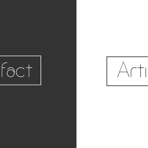 Logo Creation - A Personalized Artist Portfolio, Art Marketplace and Database