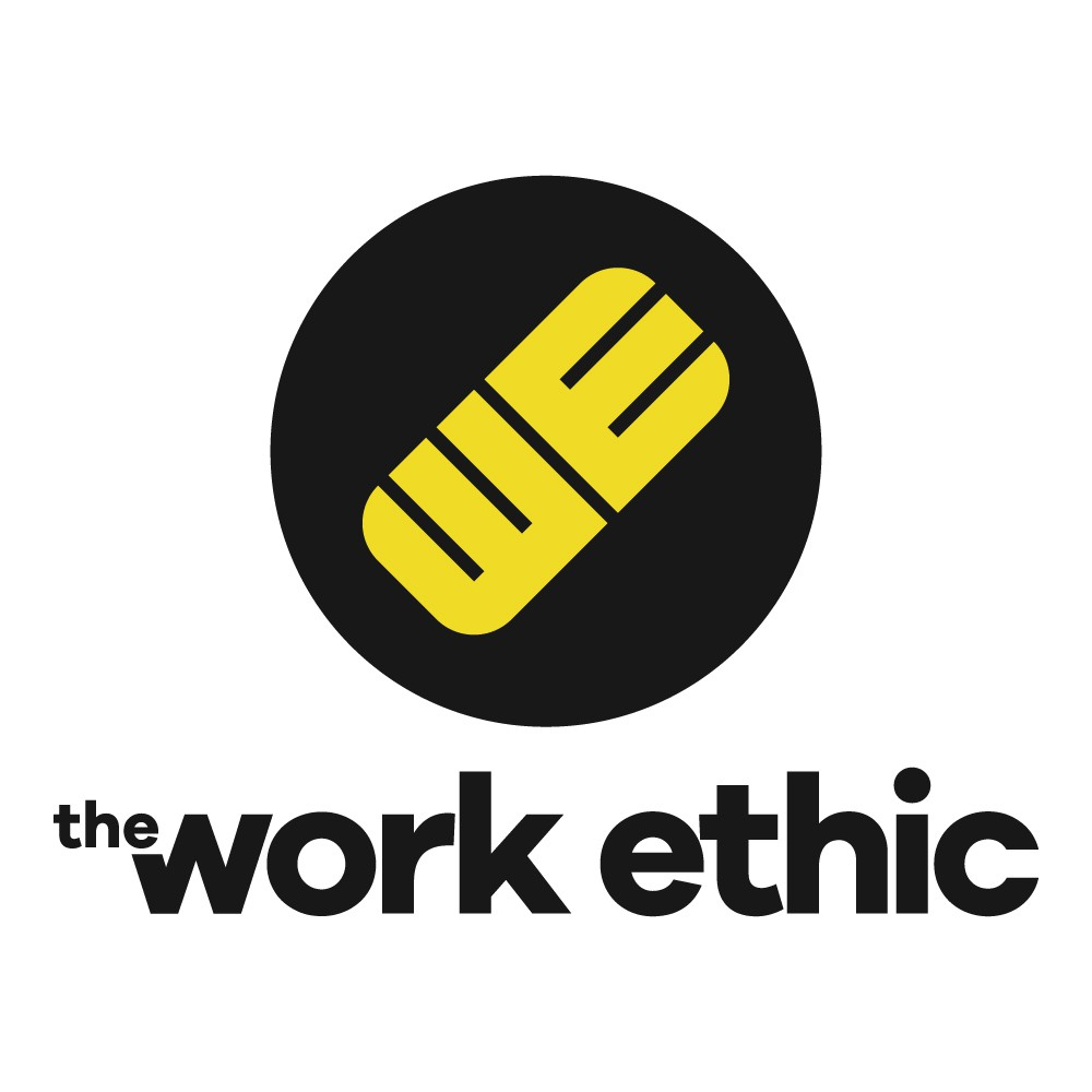 Create a logo for a new Podcast called The Work Ethic