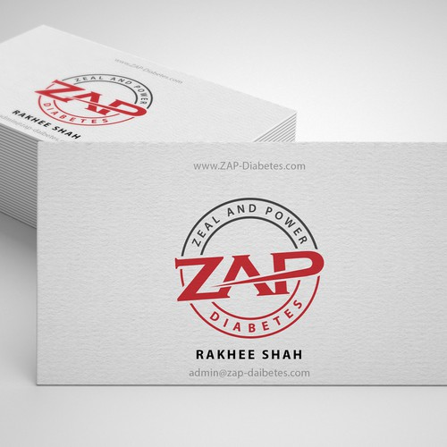 Professional logo for Zap daibetes