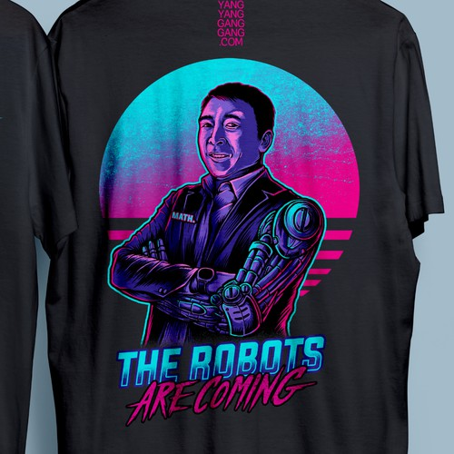IRREVERANT TSHIRT DESIGNS IN SUPPORT OF ANDREW YANG
