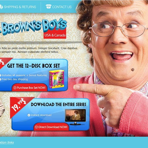 High Converting Landing page For DVD Sales