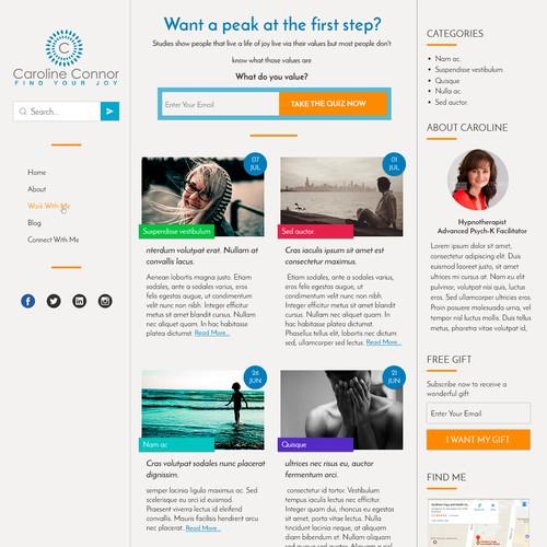 Carol Connor Blog Contest