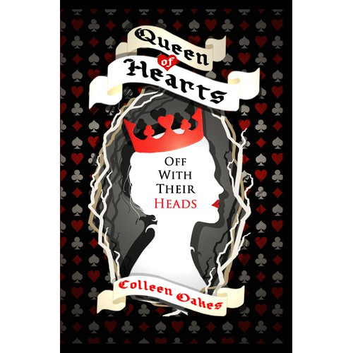 Book Cover needed for QUEEN OF HEARTS