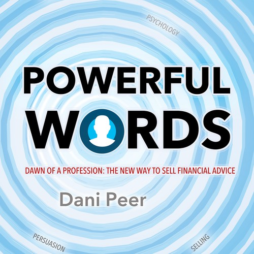 Elegant book cover that communicates finance, psychology and selling.