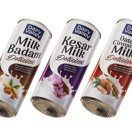 Dairy Valley Milk Cans