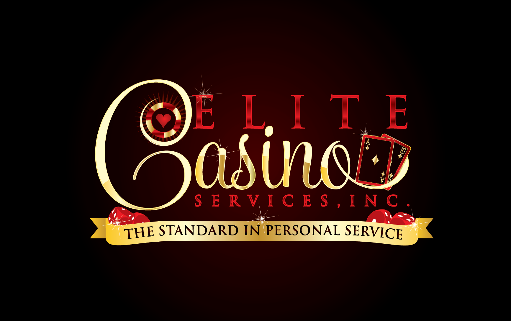 Gamble with your creative genius! We need a logo! Elite Casino Services, Inc.