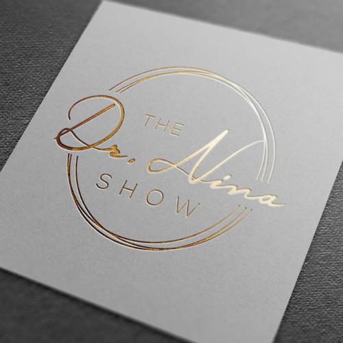 Logo for a radio show