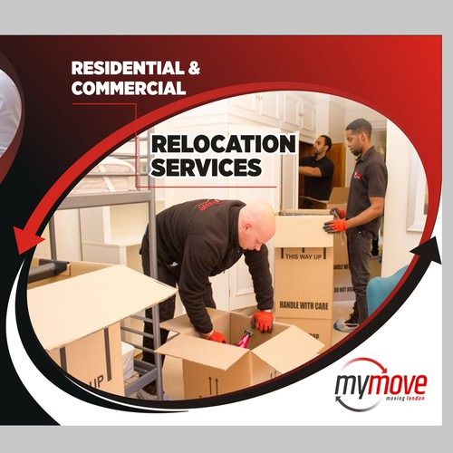 Removal Company Needs Modern Brochure Design