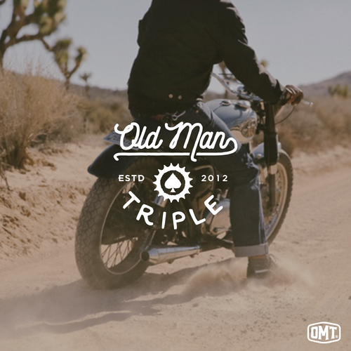 Logo for Old Man Triple.