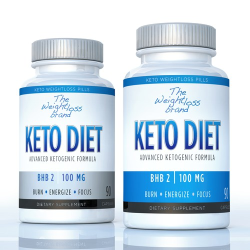Keto Diet bottle