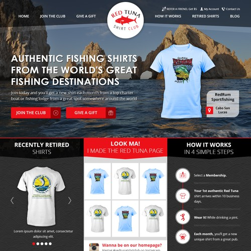 Fishing Sports Clothing Apparel Store