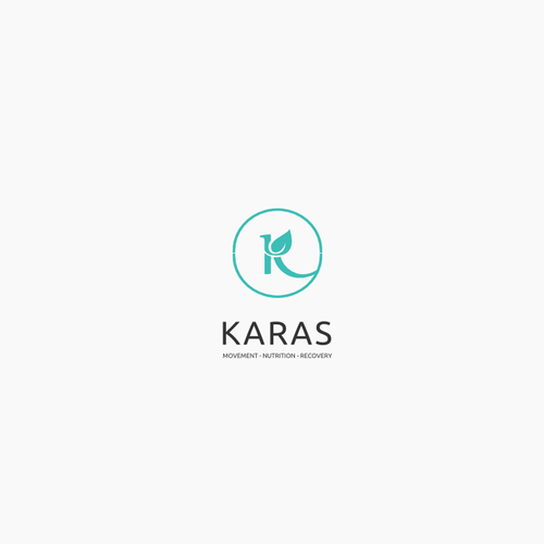Letter logo for health company