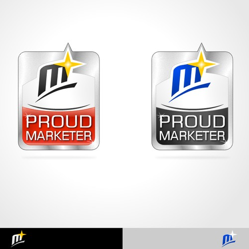 "Proud Marketer Needs a New Logo! ** ARE YOU PROUD OF YOUR DESIGNS?? ** Join The ""Proud Marketer"" Logo Challenge and Show us your"
