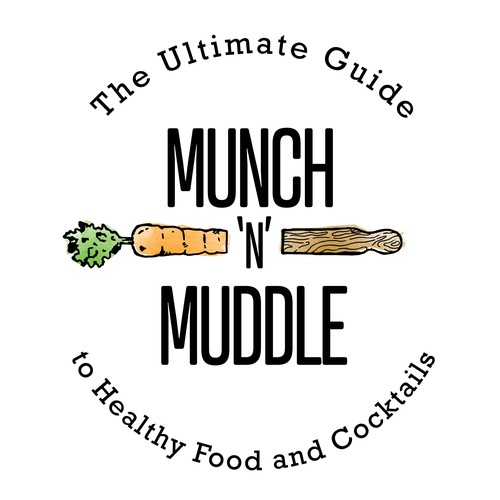 Logo Concept for Food and Drink Blog