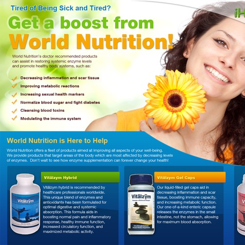 World nutrition iherb flyer