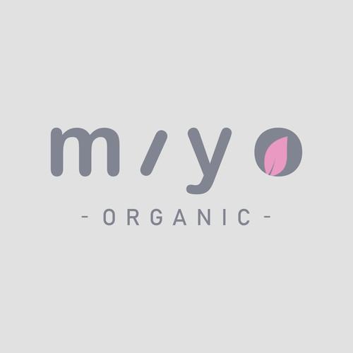 miyo organic logo design entry