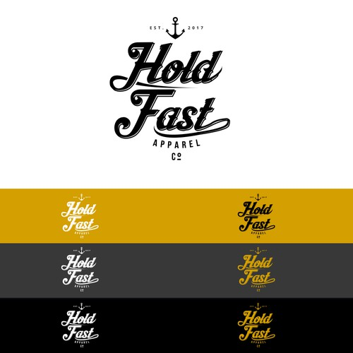 Logo for Hold Fast Apparel Co.