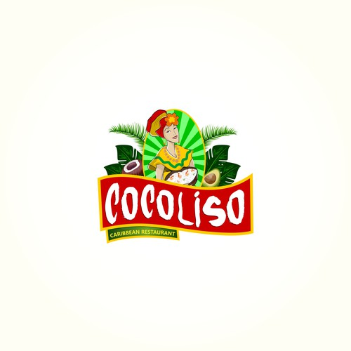 Logo per ristorante caraibico