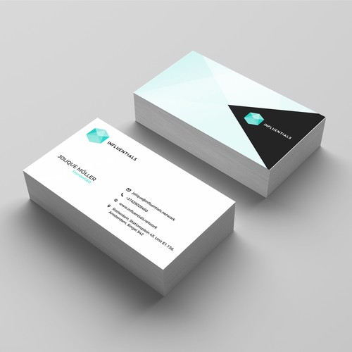 Influencer Marketing Platform needs powerful business cards