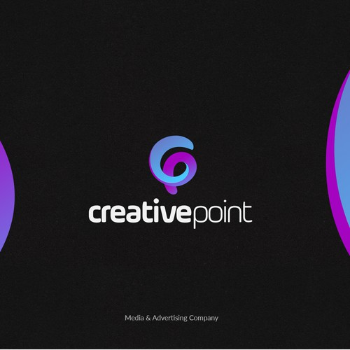 Logotype for Media & Advertising Company.