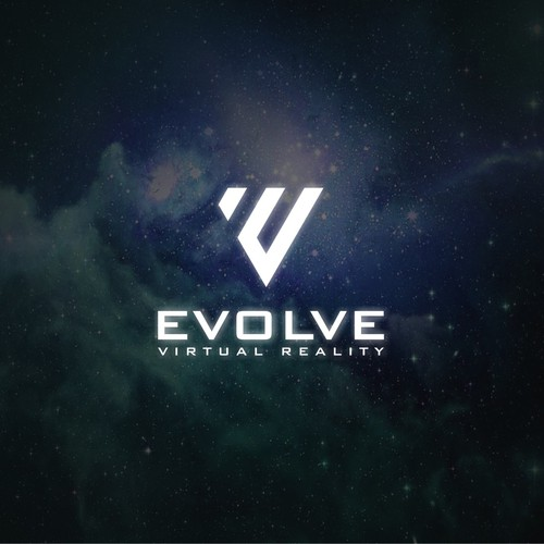 Evolve Virtual Reality - Logo Design