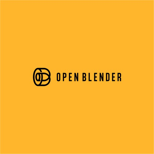 Lette O and B for Open Blender company