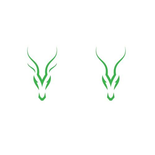 Gazelle logo design