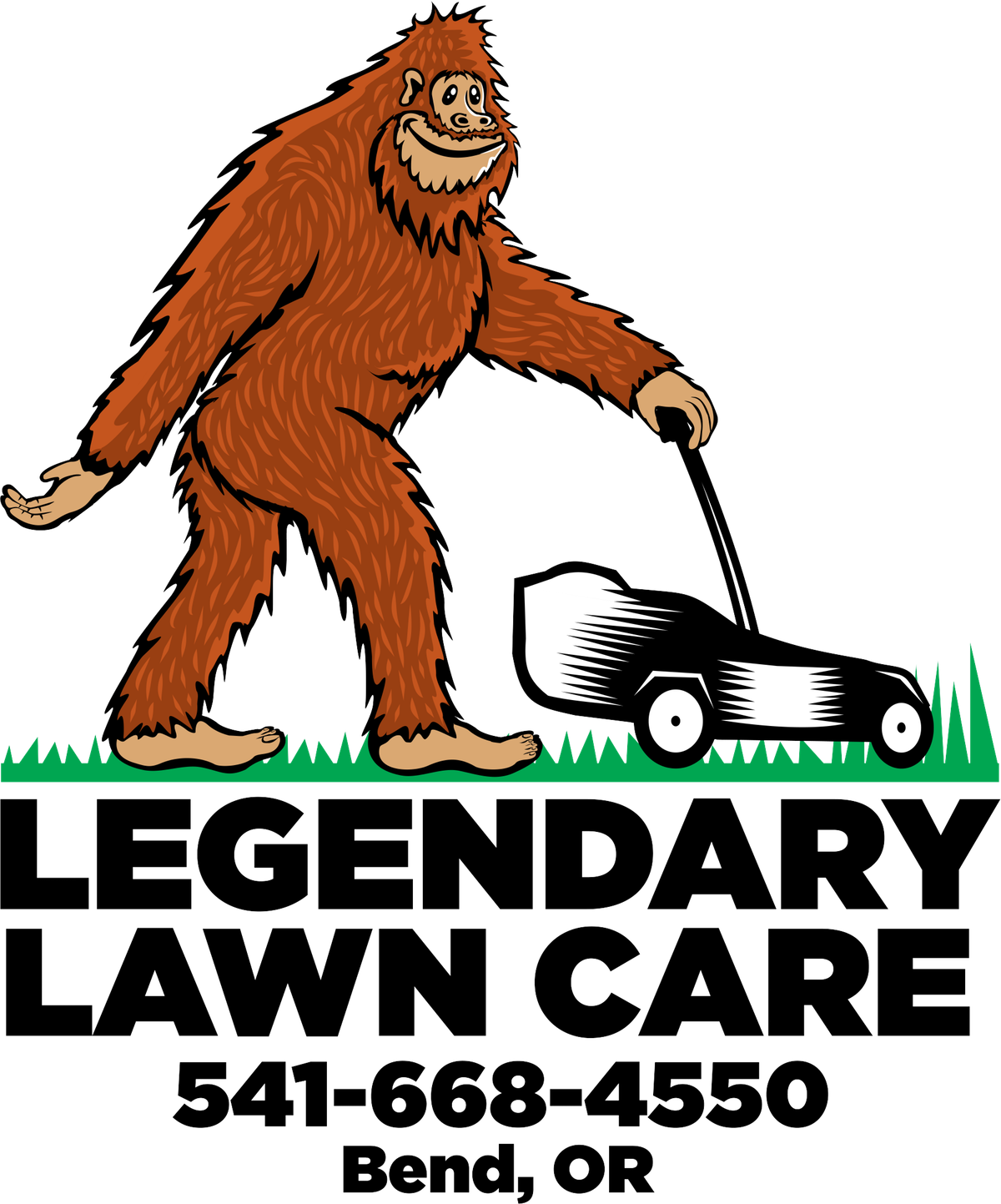 Legendary Lawn Care Logo