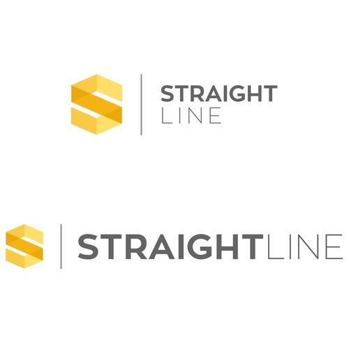 Straight Line Logo Design