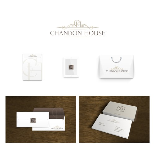 Chandon House logo design