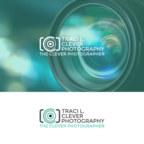 Create a clever logo for The Clever Photographer!
