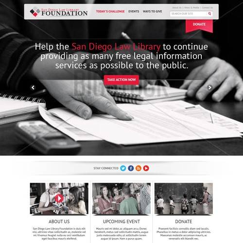 San Diego Law Library Foundation - New Website