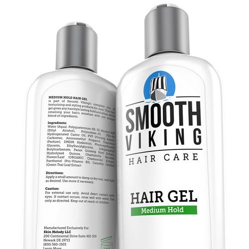 Hair Gel 3D Rendering