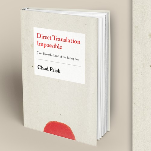 """Create a Japanese Themed Book Cover for """"Direct Translation Impossible"""""""