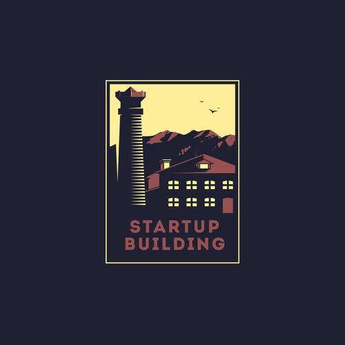 Logo for Startup Building