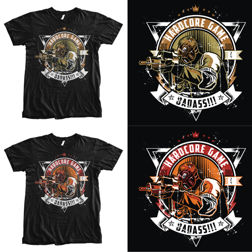 +++ Shirt Design for Hardcore Gamer +++ (multiple) Winner guaranteed!