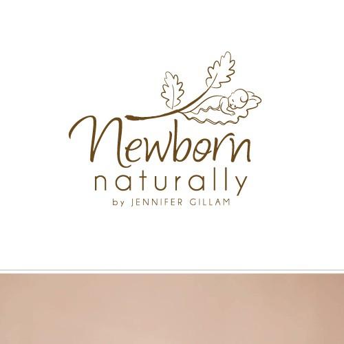baby photography logo concept