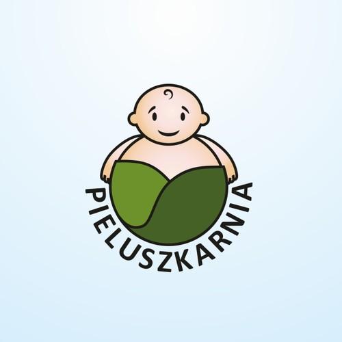 Logo for nappy store Pieluszkarnia