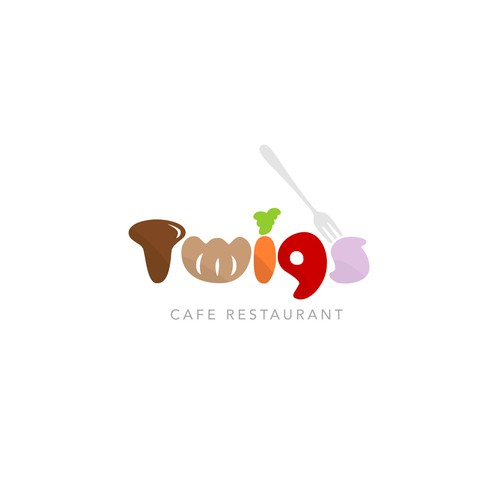 Logotype for Cafe-Restaurant