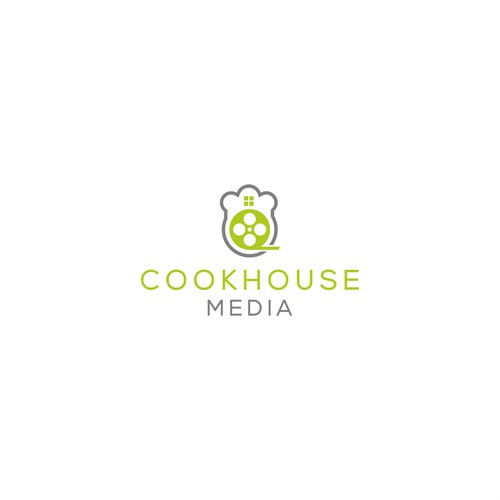 Simple logo for Cookhouse Media