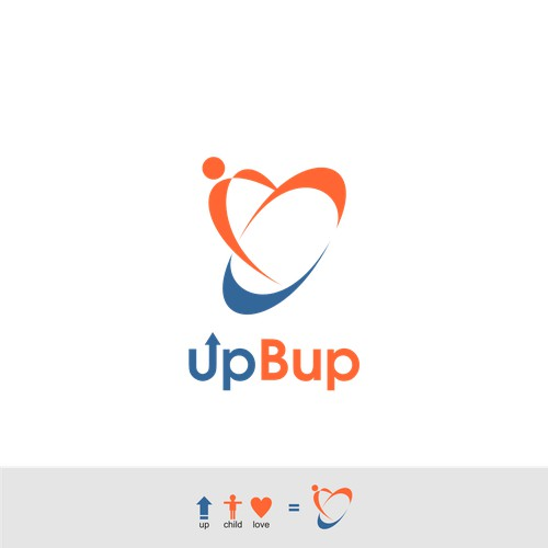 Upbup web Logo Concept